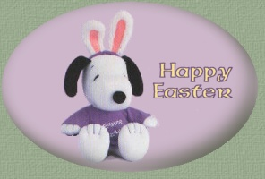 Snoopy the Easter Beagle